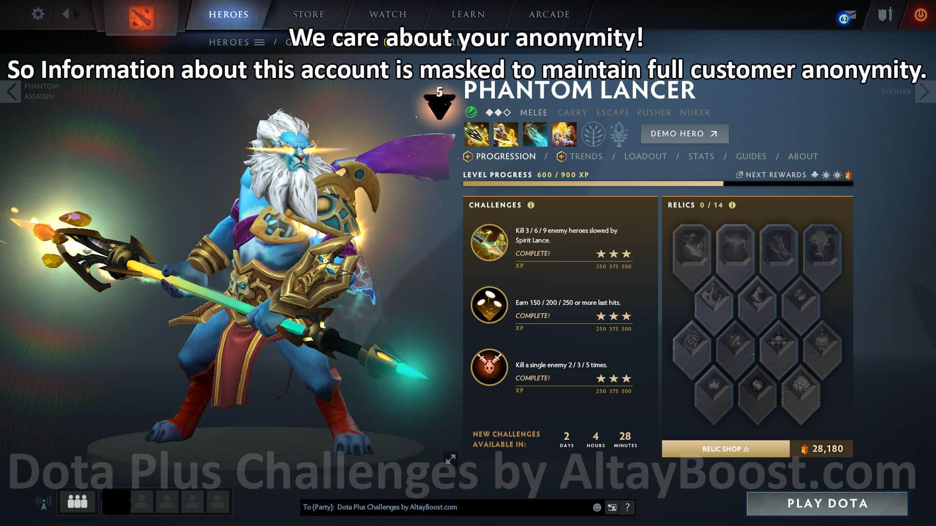 Dota Plus Challenges Altayboost
