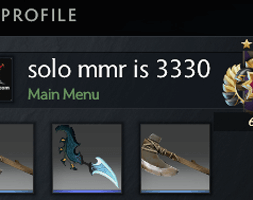 solo mmr is 3330 #AFS