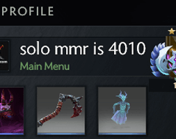 solo mmr is 4010 #AFS