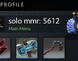 solo mmr is 5612 #AFS
