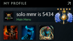 solo mmr is 5434 #AFS