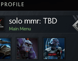 solo mmr is TBD #AFS