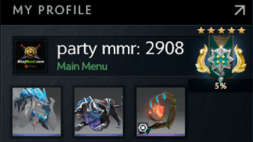 party mmr is 2908 #AFS