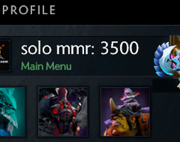 solo mmr is 3500 #AFS