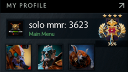 solo mmr is 3623 #AFS