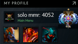 solo mmr is 4052 #AFS