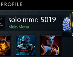 solo mmr is 5019 #AFS