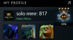 solo mmr is 817 #AFS