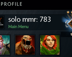solo mmr is 783 #AFS (3)