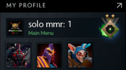 buy dota 2 account, solo mmr is 1 #AFS (1)