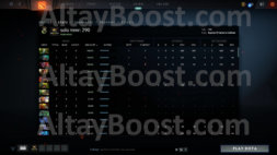 buy dota 2 account, solo mmr is 290 #AFS (2)