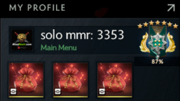 buy dota 2 account, solo mmr is 3353 #AFS (1)