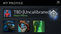 buy TBD Uncalibrated dota 2 account, #AFS