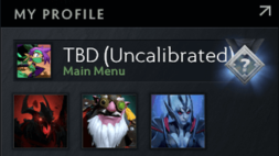 TBD (Uncalibrated) Dota 2 Account, #AFS (1)