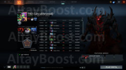 TBD (Uncalibrated) Dota 2 Account, #AFS (2)