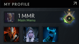 1 mmr account for sale, lowest mmr in dota 2, herald medal, #AFS (1)