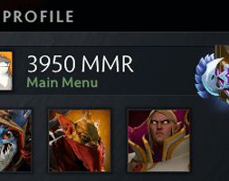 3K MMR DOTA 2 ACCOUNT, ANCIENT MEDAL, #AFS (1)