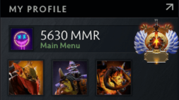 5K MMR DOTA 2 ACCOUNT, IMMORTAL MEDAL, #AFS (1)