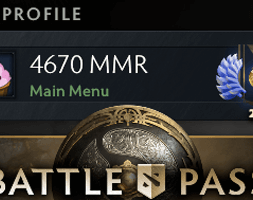 BUY 4K MMR DOTA 2 ACCOUNT, DIVINE MEDAL, #AFS (1)