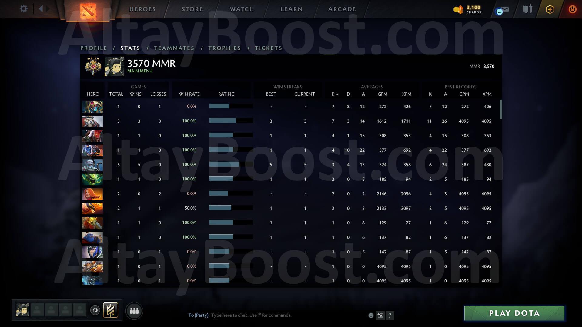Dota medal 2 in mmr Matchmaking/Seasonal Rankings