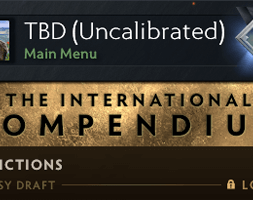 TBD (Uncalibrated) Dota 2 Account for sale, #AFS (1)